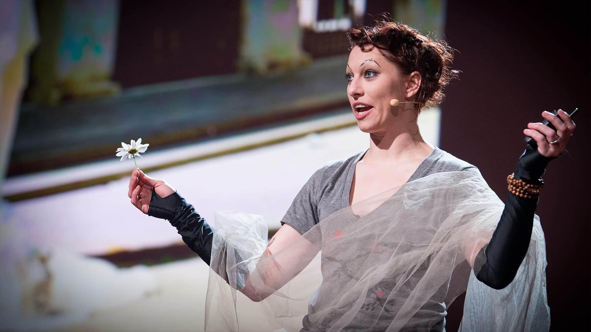 הרצאות מעוררות השראה מס' 9: אמנדה פאלמר- על אומנות הבקשה לעזרה